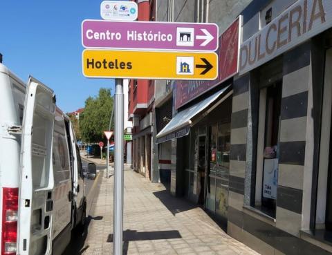 Renovación de la señalización informativa turística de La Laguna / CanariasNoticias.es