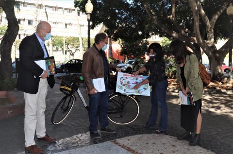 Las Palmas de Gran Canaria promueve la movilidad sostenible en los centros educativos / CanariasNoticias.es