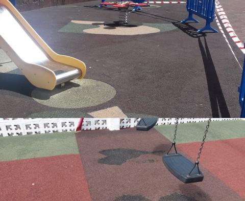 Parque infantil de Vallehermoso (La Gomera) / CanariasNoticias.es