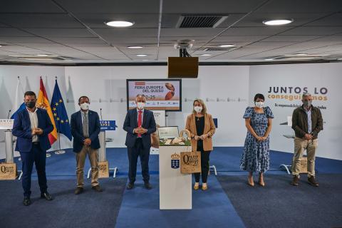 Presentación de la Feria Europea del Queso / CanariasNoticias.es