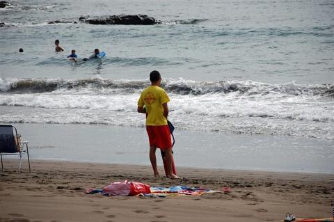 Salvamento y Socorrismo en las playas de Telde (Gran Canaria) / CanariasNoticias.es