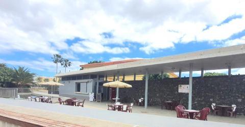 Terraza en el Auditorio de Agüimes (Gran Canaria) / CanariasNoticias.es