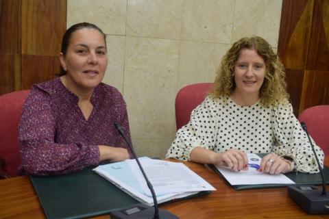 Laura Santana y Raquel Díaz/ canariasnoticias