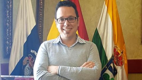 Yapci Prieto, portavoz de CC en el Ayuntamiento de Guía de Isora (Tenerife) / CanariasNoticias.es