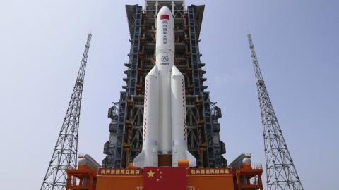 Cohete chino/ canariasnoticias