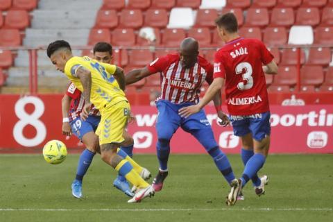 Sporting de Gijón 1 - U.D. Las Palmas 0