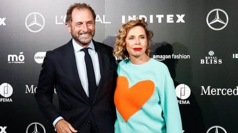 Ágatha Ruiz de la Prada y Luis Gasset