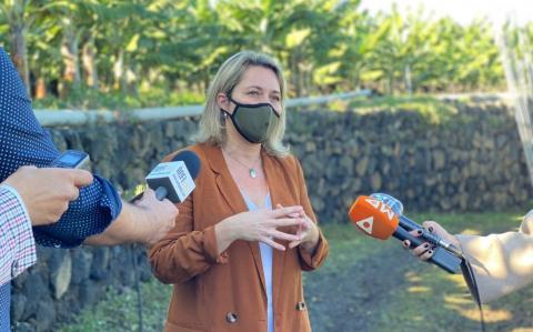 Alicia Vanoostende, consejera de Agricultura, Ganadería y Pesca del Gobierno de Canarias / CanariasNoticias.es