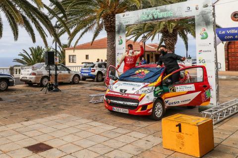 Armiche Mendoza en Rallye Isla Verde (La Palma) / CanariasNoticias.es