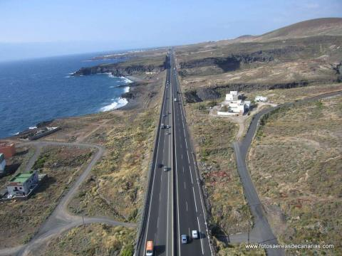 Carretera de Tenerife Sur/ canariasnoticias