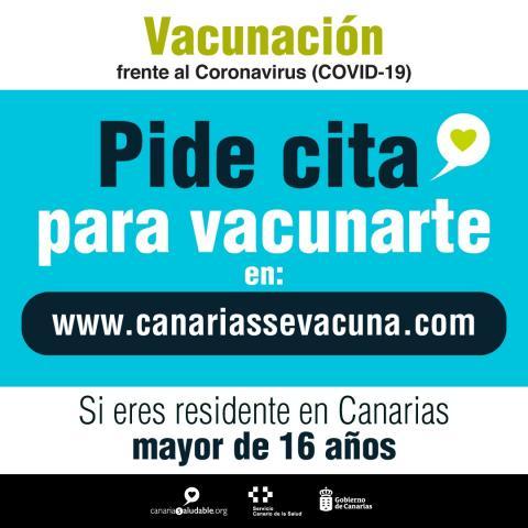 Cita para la vacunación contra la COVID-19 en Canarias / CanariasNoticias.es
