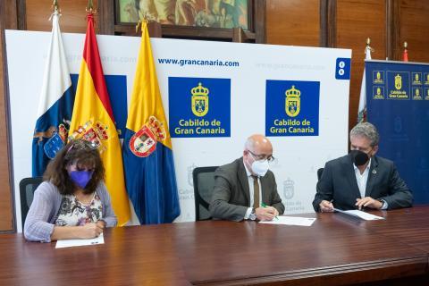Convenio entre el Cabildo de Gran Canaria y el Colegio Oficial de Arquitectos / CanariasNoticias.es
