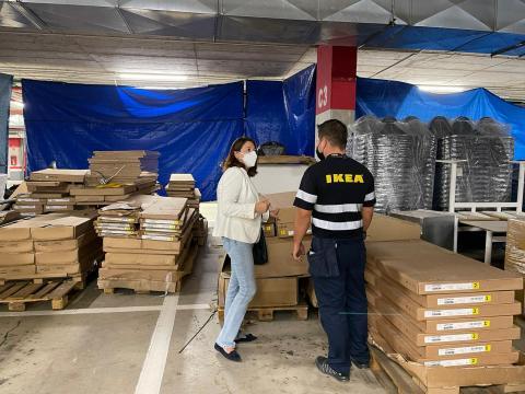 Donación de mobiliario de Ikea al Cabildo de Lanzarote / CanariasNoticias.es