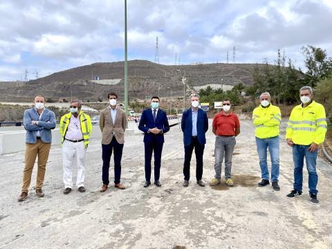 Concluyen las obras de reparación de la GC-1 en la zona del Tívoli / CanariasNoticias.es