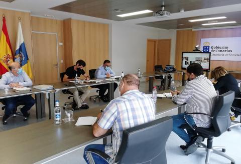 Reunión de la Mesa Sectorial de Sanidad de Canarias / CanariasNoticias.es