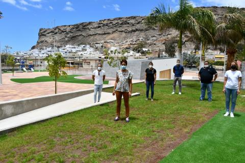 Nuevo parque recreativo de Playa de Mogán (Gran Canaria) / CanariasNoticias.es
