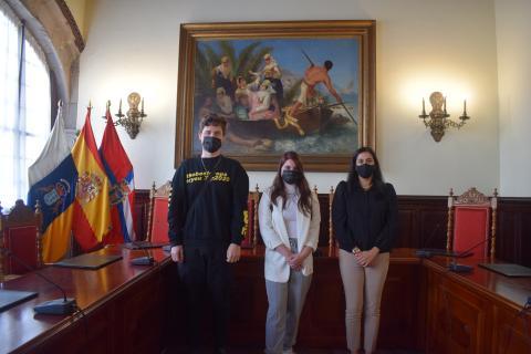 El Ayuntamiento de Santa Cruz de La Palma acoge a dos alumnos en prácticas de la ULL / CanariasNoticias.es
