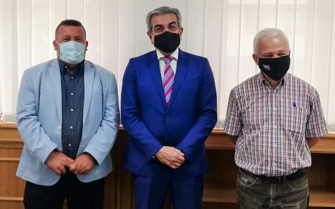 Román Rodríguez, Carmelo Ramírez y Matías Peña/ canariasnoticias