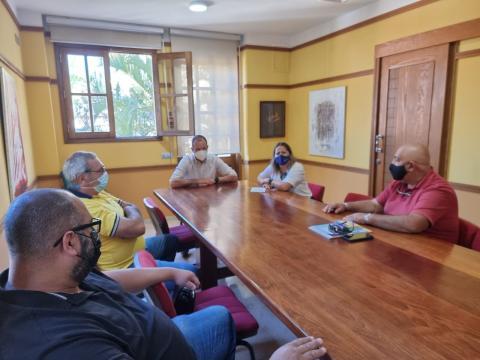 Agüimes recibe a la Federación de Lucha de Gran Canaria/ canariasnoticias