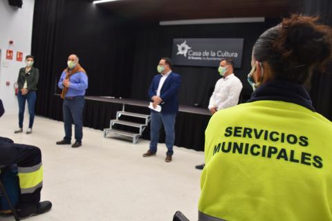 El Rosario incorpora a 24 nuevos trabajadores en la 2ª fase del Plan de Empleo Social 2021 / CanariasNoticias.es