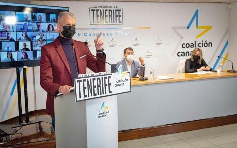 Francisco Linares, secretario general de CC de Tenerife / CanariasNoticias.es
