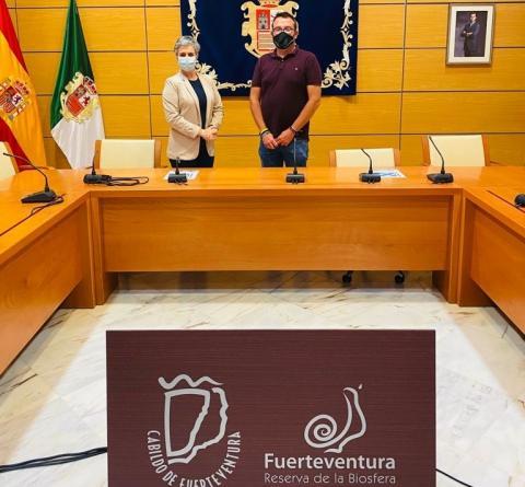 Fundación DinoSol y Cabildo de Fuerteventura mantienen una reunión de trabajo / CanariasNoticias.es