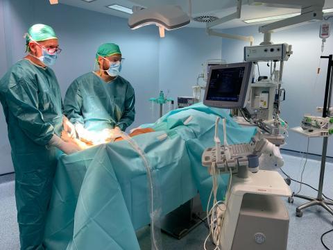 Quirófano del Hospital Parque / CanariasNoticias.es