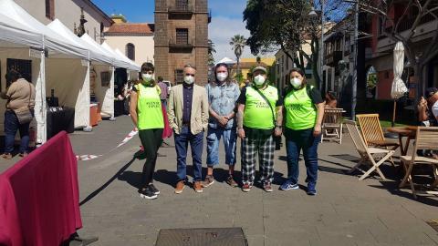 Agentes Covid-19 en La Laguna (Tenerife) / CanariasNoticias.es