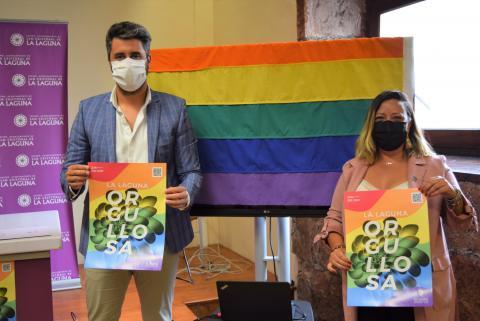 Presentación de actos del Día del Orgullo 2021 en La Laguna / CanariasNoticias.es