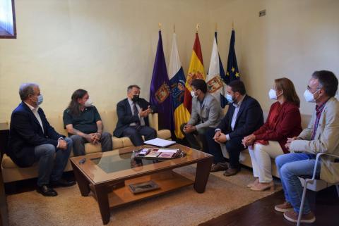 Reunión con el Secretario de Estado Agenda 2030 en La Laguna / CanariasNoticias.es