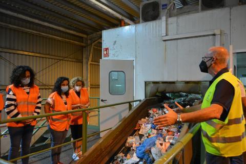 Vista al Complejo Ambiental Los Morenos (La Palma) / CanariasNoticias.es