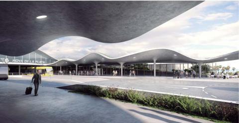 Nueva estación de guaguas de Hoya de la Plata en Las Palmas de Gran Canaria / CanariasNoticias.es