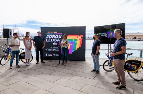 Las Palmas de Gran Canaria presenta la campaña 'Orgullosa de ti' / CanariasNoticias.es