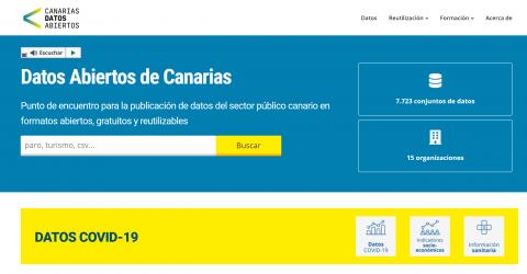 Portal de Datos Abiertos de Canarias / CanariasNoticias.es