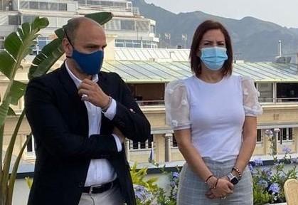 Alfonso Cabello y Evelyn Alonso / CanariasNoticias.es