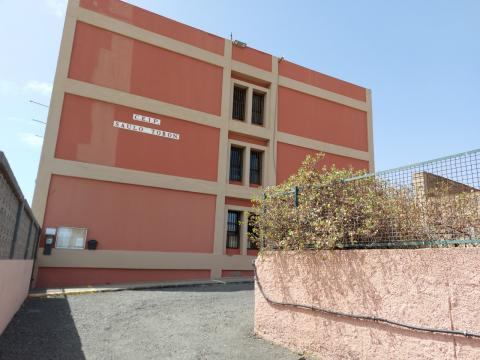 Trabajos de mejora en el CEIP Poeta Saulo Torón en Telde / CanariasNoticias.es
