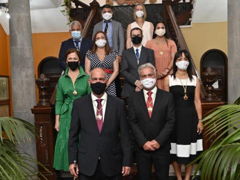 El nuevo alcalde de Teror distribuye las delegaciones de áreas / CanariasNoticias.es