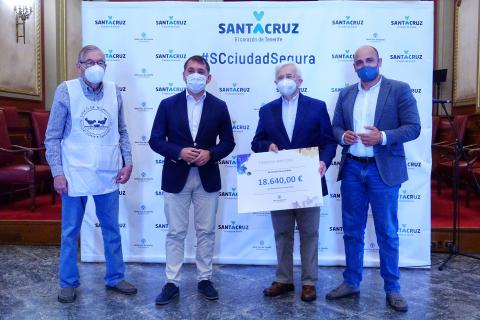 Las Fiestas de Mayo de Santa Cruz de Tenerife recaudan 18.640 euros / CanariasNoticias.es