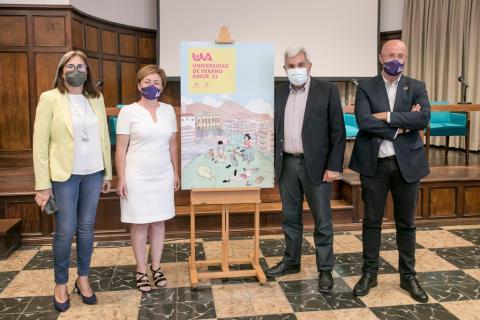 Presentación de la Universidad de Verano de Adeje 2021 / CanariasNoticias.es
