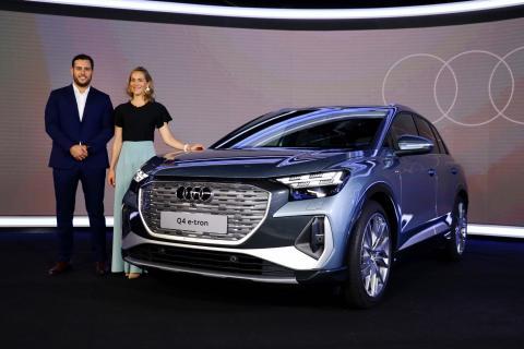 Audi presenta los nuevos Audi Q4 e-tron, unos SUV eléctricos muy versátiles