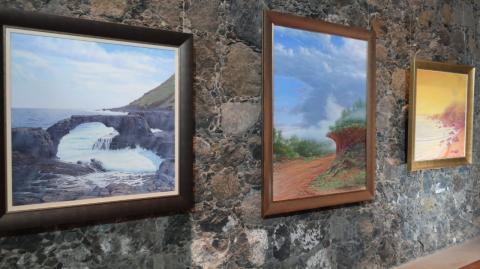 Chago Melián. Castillo de San Felipe. Puerto de La Cruz/ canariasnoticias