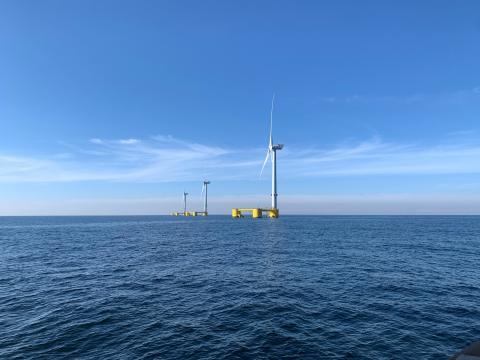 Energía eólica marina en Canarias