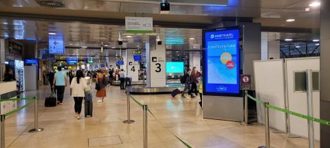 Promoción de turismo de la isla de Fuerteventura en los aeropuertos / CanariasNoticias.es
