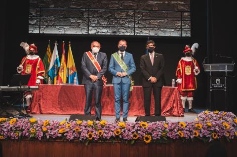 Gáldar y Calatayud celebran el hermanamiento entre ambas ciudades / CanariasNoticias.es