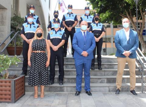 7 agentes se incorporan a la plantilla de la Policía Local de Granadilla de Abona / CanariasNoticias.es