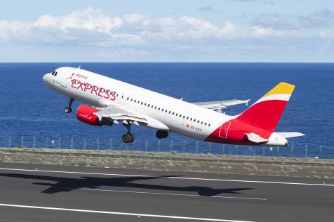 Avión de Iberia Express
