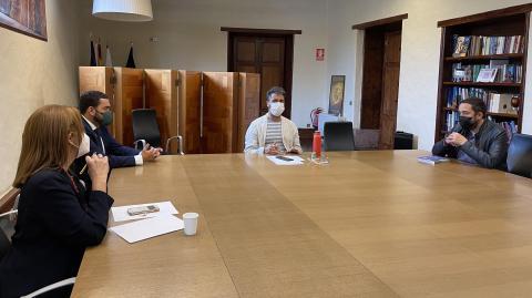 Reunión para adoptar nuevas medidas en La Laguna por el Covid-19 / CanariasNoticias.es