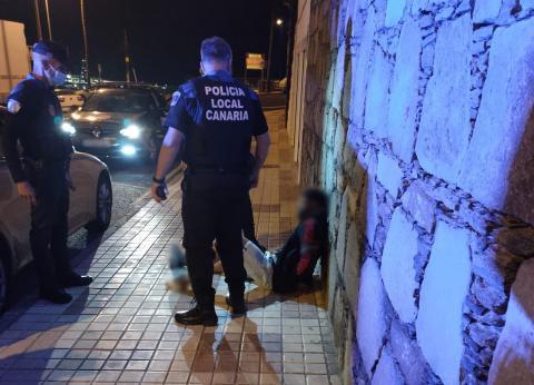 Detenido por la Policía Local de Las Palmas de Gran Canaria