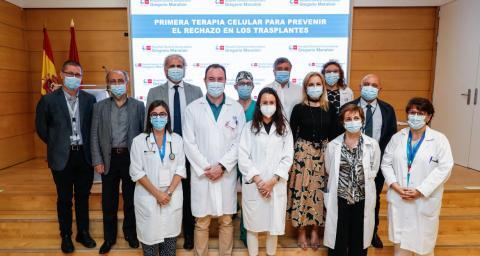 Desarrollan un tratamiento celular pionero en el mundo para prevenir el rechazo en trasplantes / Comunidad de Madrid