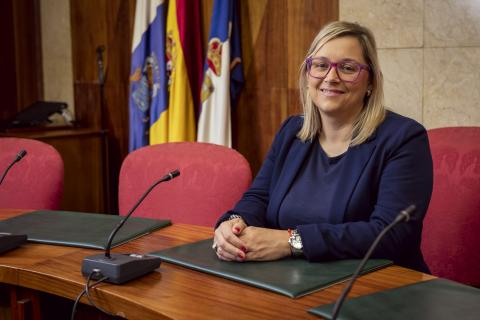 Nayra Castro, consejera de Recursos Humanos del Cabildo de La Palma / CanariasNoticias.es